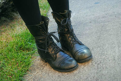 Combat boots at the university of florida