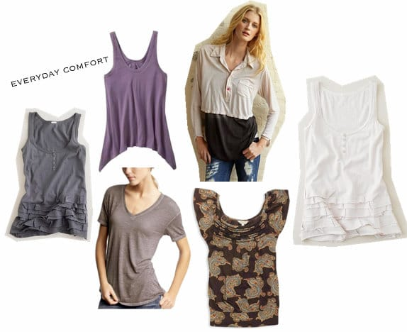 Comfortable everyday clothing