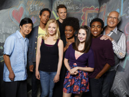 Cast of NBC's Community