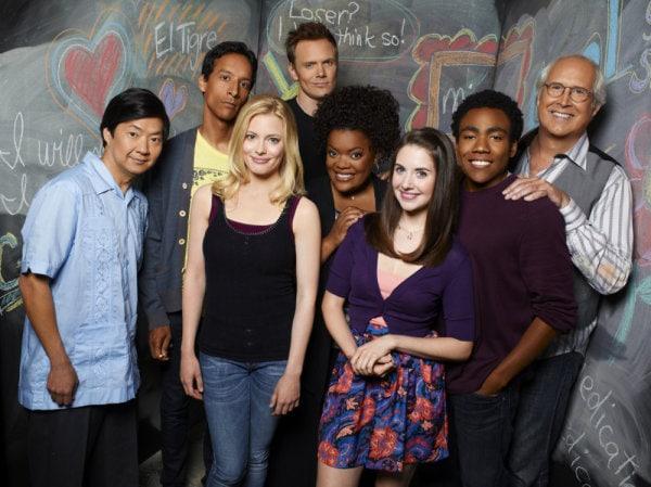 Cast of NBC's Community