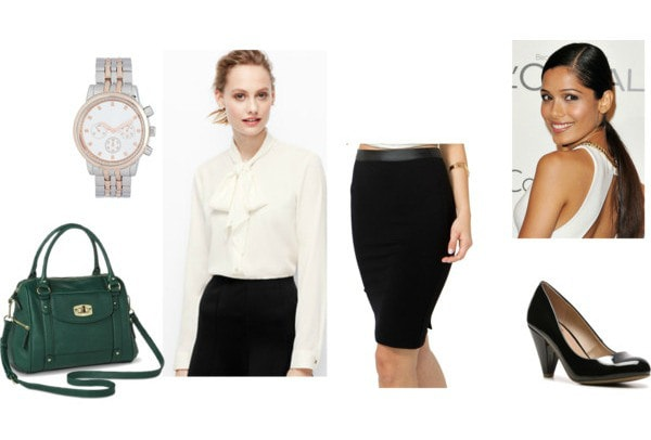 Outfit inspired by hospitality and tourism professionals - concierge