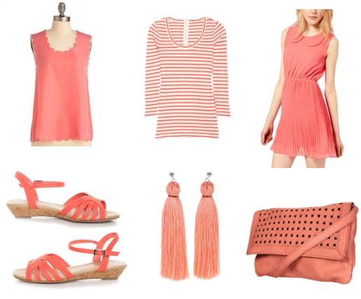 coral pink spring 2012 color trend