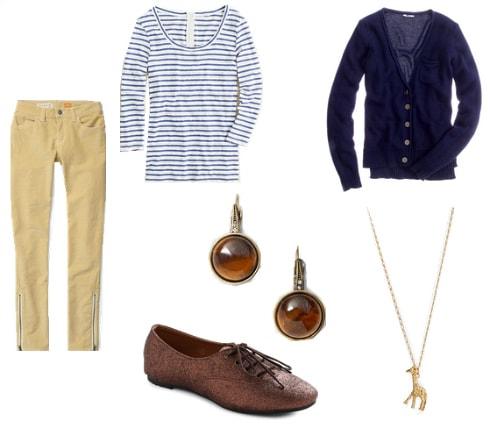Corduroy pants outfit 1
