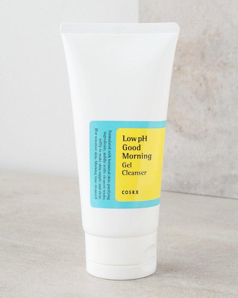 Bottle of gel cleanser