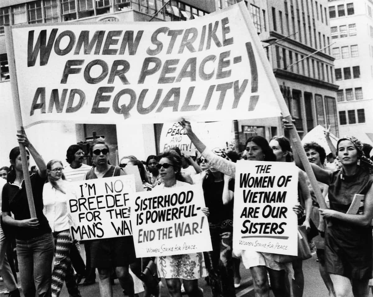 Counterculture 1970 Women Equality