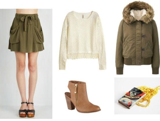 Country-like Little Women Fashion
