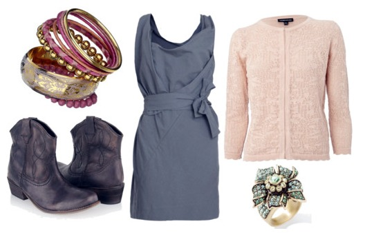 how to wear cowboy boots - outfit 1