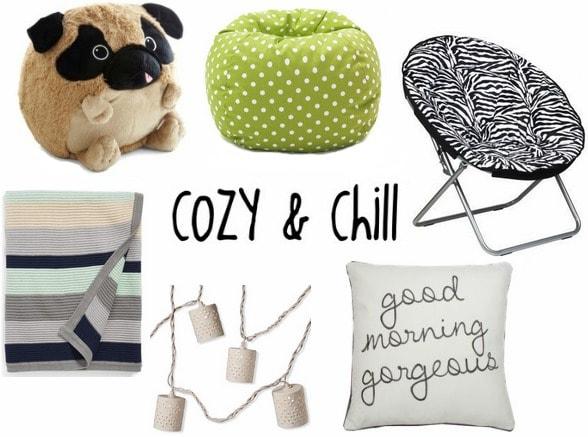 Cozy dorm decor