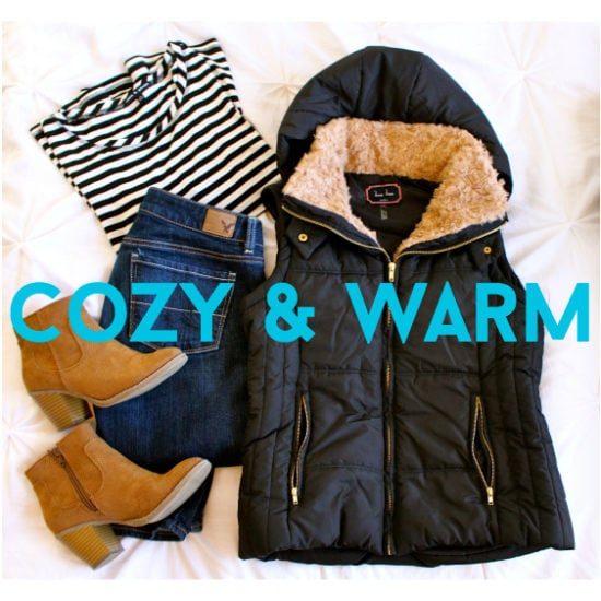 Cozy-Warm-Outfits-Lazy-Day-Header-Black-Vest-Fur-Striped-Top-Jeans-Camel-Boots.