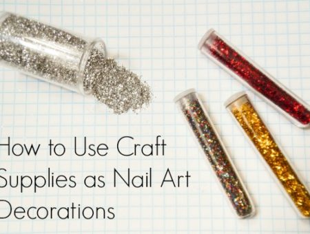 Craft supplies nail art decorations