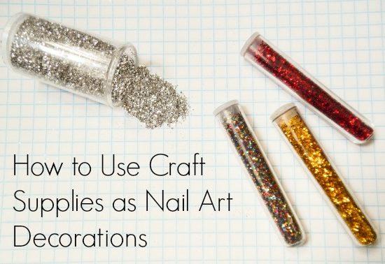 Craft supplies nail art decorations