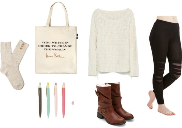 creative writer outfit