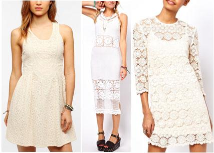 Crochet dresses trend