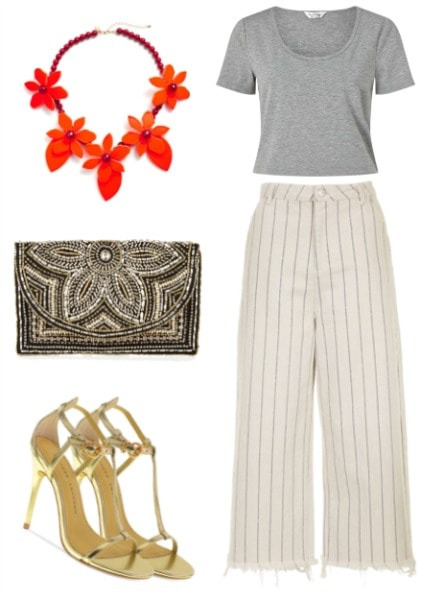 carrie bradshaw inspired crop top outfit