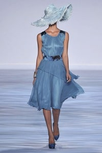 Christian Siriano Spring 2010 fashion dress