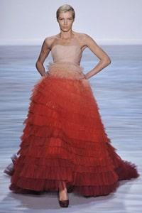 Christian Siriano Spring 10 show at New York Fashion Week