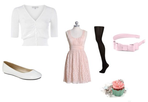 cupcakes clothes inspired outfit