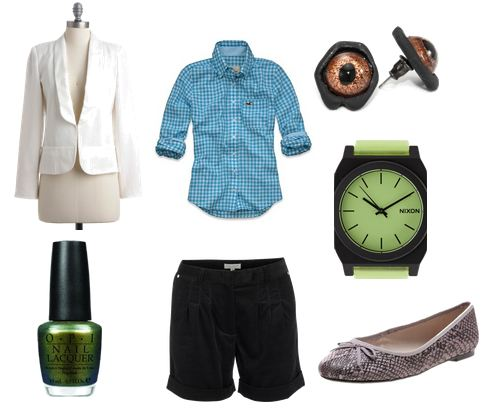 Fashion inspired by Dr. Curt Conners from The Amazing Spider-Man