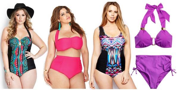 Curvy swimsuits