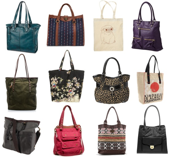 Cute and Affordable Tote Bags Fall 2011