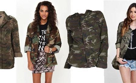 Cute camo jackets
