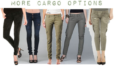 News: Fashion Celebs Crazy for Cargos