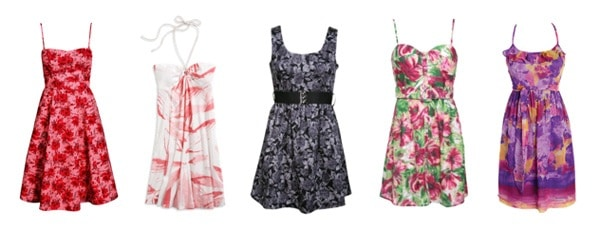 Cute Floral Dresses for Spring