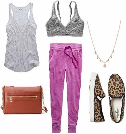 Cute loungewear look