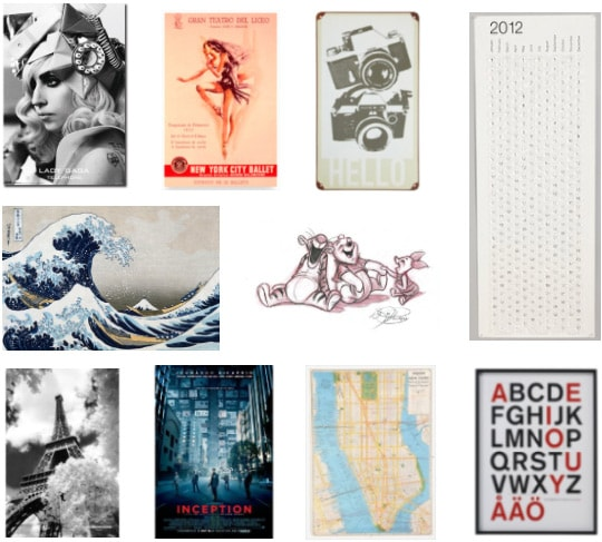 Cute and affordable posters for dorm rooms