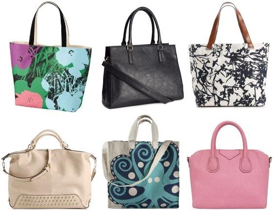Cute tote bags under