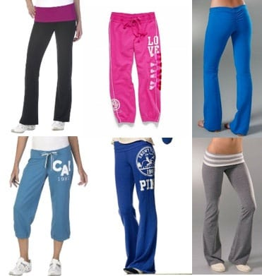 Cute workout pants and sweats for the gym