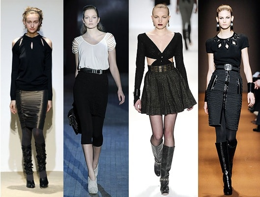 Fall 2009 fashion trend - cutouts and rips