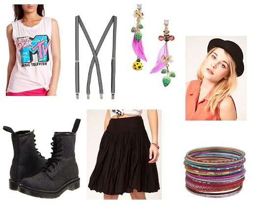 Cyndi Lauper Inspired Outfit 2