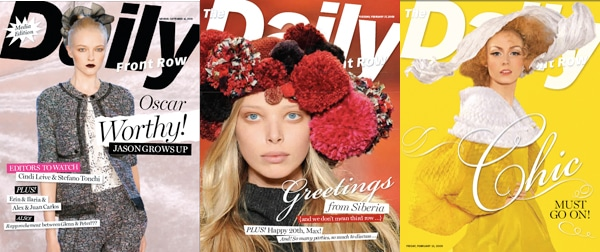 daily front row magazine