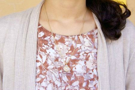 Dainty necklace at the university of new mexico