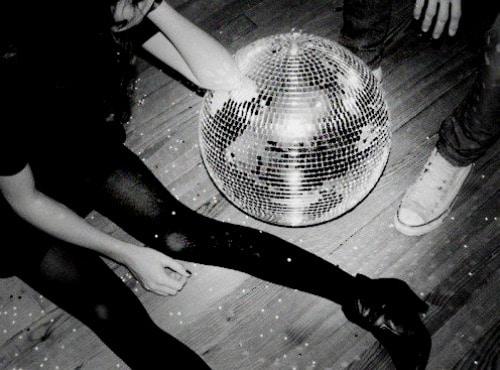 dance floor disco ball