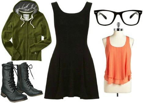Daria morgendorffer costume -black dress Halloween costume ideas