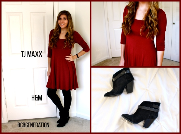 Dark-Oxblood-Dress-Tights-Black-Booties-Business-Casual-Fall.