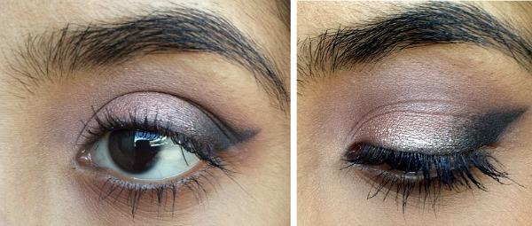 Dark smokey eye valentine's day makeup