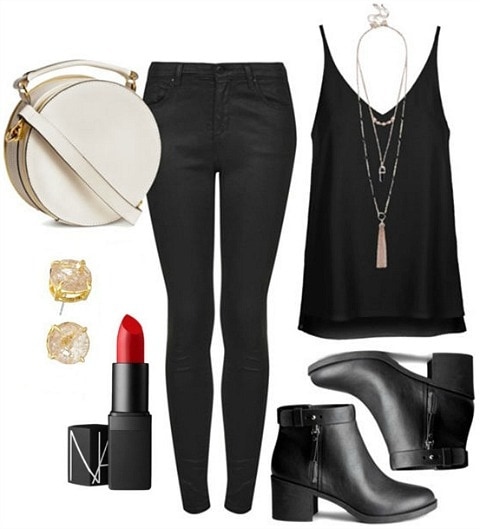 casual and cool date night look