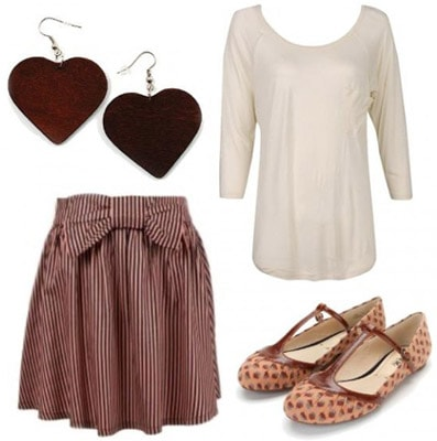 Date outfit inspired by Jane from Disney's Tarzan
