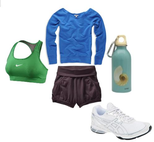 Daughter running outfit