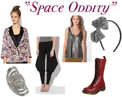 David Bowie Outfit - Space Oddity
