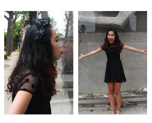 Little Black Dress street style