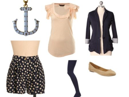 How to wear polka dots during the day
