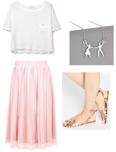 Dirty Dancing tulle skirt