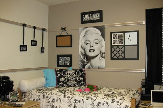 Decorated Dorm Room
