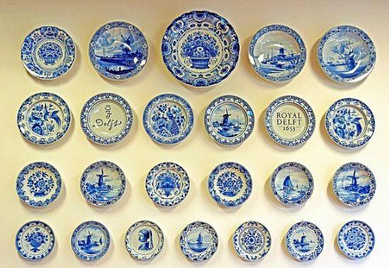 Delftware plates