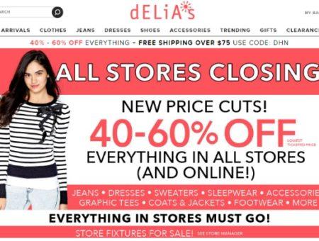 Delias closing