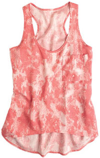 Delia's Printed Tank in pink